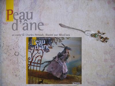Peau d'âne aux Editions Magnard, illustré par Miss Clara