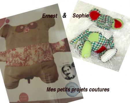 Projets Ernest&Sophie